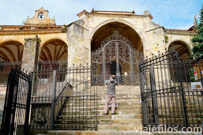 Iglesia gótica de santa María de la Asunción de Laredo