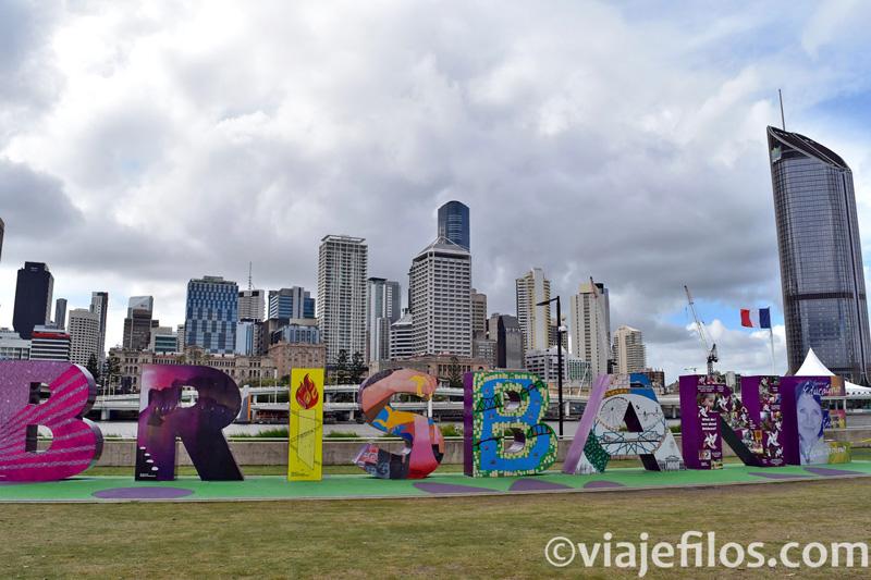 Brisbane. Australia en caravana
