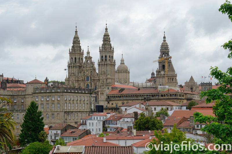 Ruta por el Norte de Galicia. Vistas de la Catedral de Santiago de Compostela