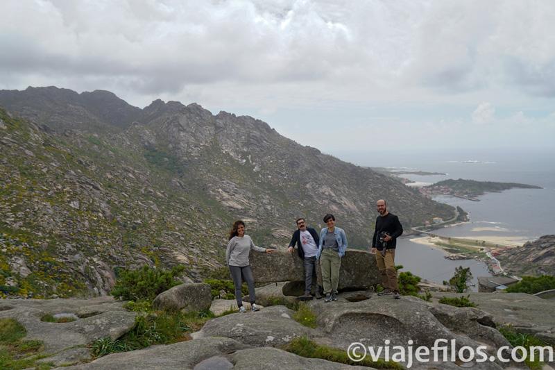 Ruta por el Norte de Galicia. Las vistas desde el Monte Pindo