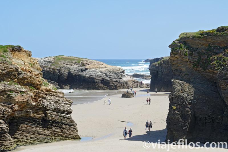 Ruta por el Norte de Galicia. Playa de las Catedrales
