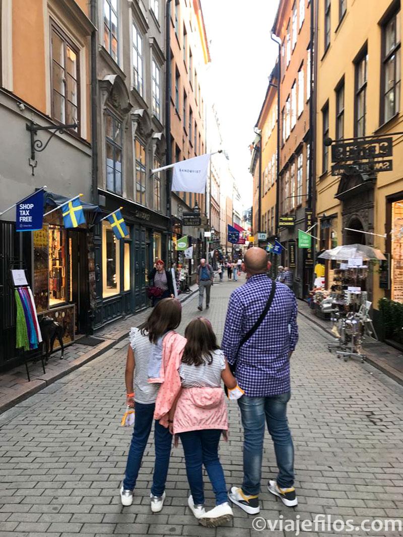 Escapada a Estocolmo con niños