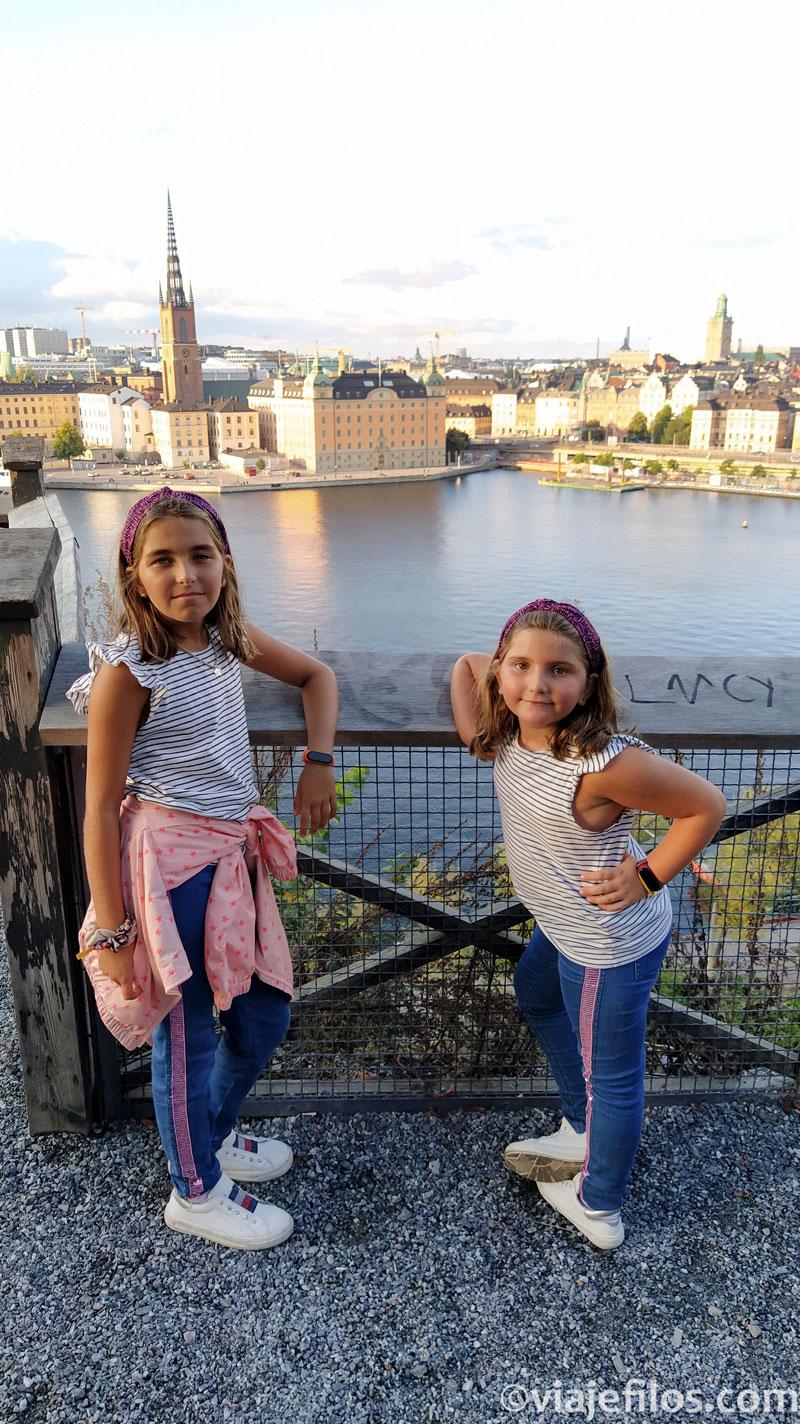 Viajar con niños a Estocolmo