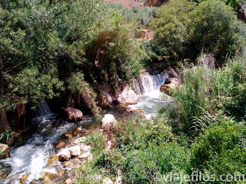 El lugar donde darse un chapuzón en el río Mundo
