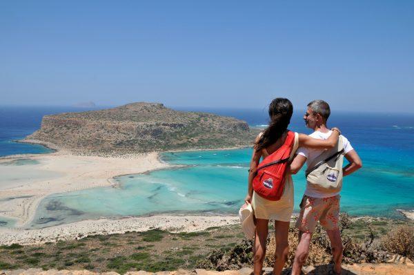 Disfurtando de las playas en un viaje de una semana por Creta