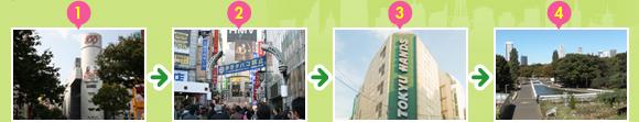 9 Ruta Shibuya