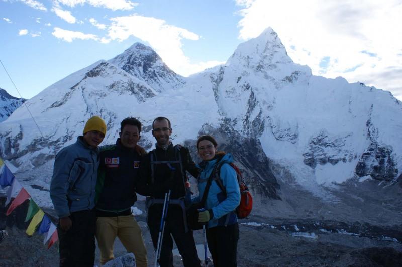 El mejor mirador del Everest desde Nepal