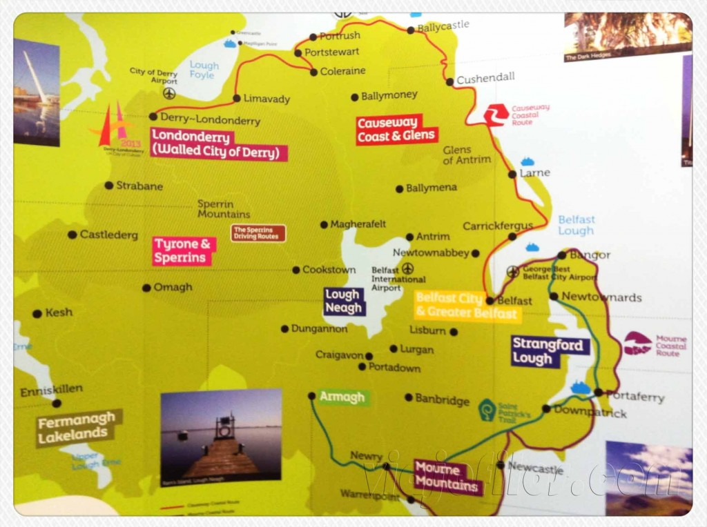 Las mejores rutas en Irlanda del Norte