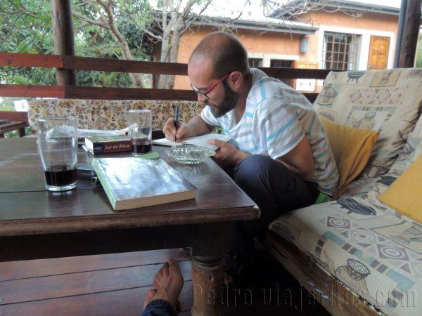 Escribiendo un cuaderno de viaje por libre al sur de Africa