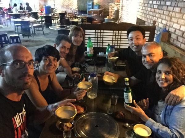 La experiencia de comer en Seul