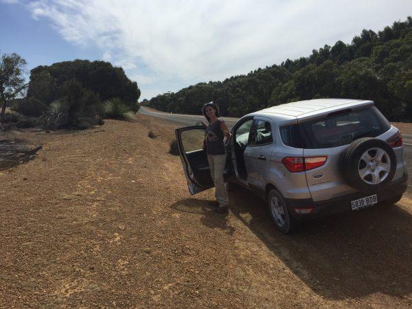 Alquilar coche en Kangaroo island