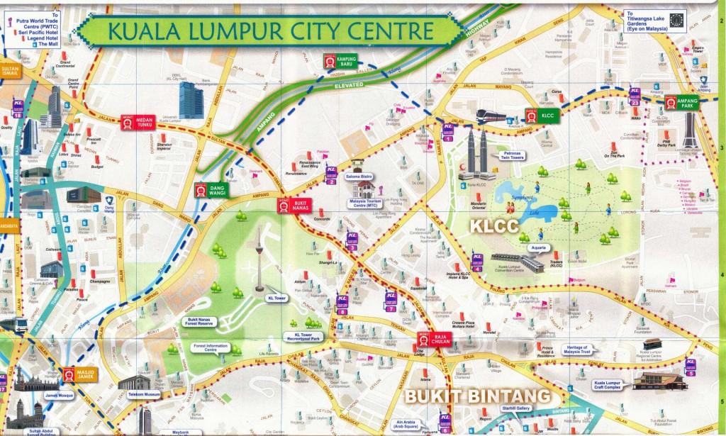 Mapa de Kuala Lumpur