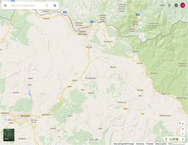 Mapa región de Marumares