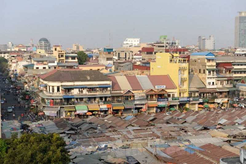 Mercado ruso de Phnom Penh