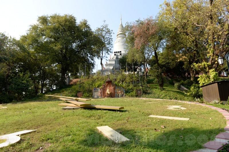 Wat Phnom en Phnom Penh