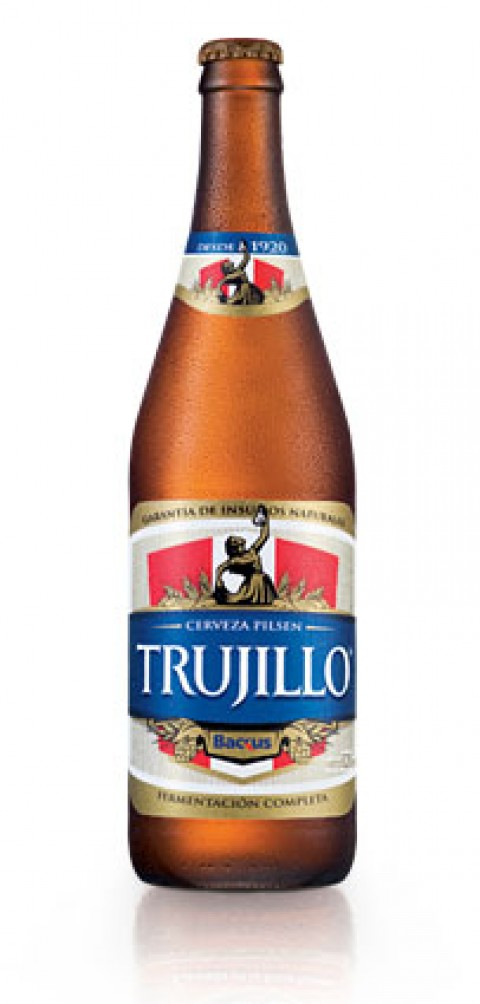 "Una ""bien helada"" Pilsen Trujillo en Perú"