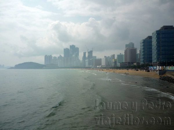La playa de Busan
