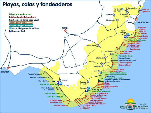 Playas PN Cabo de Gata