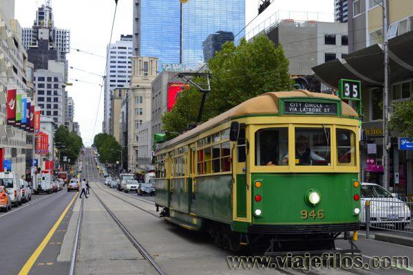 El transporte en Melbourne
