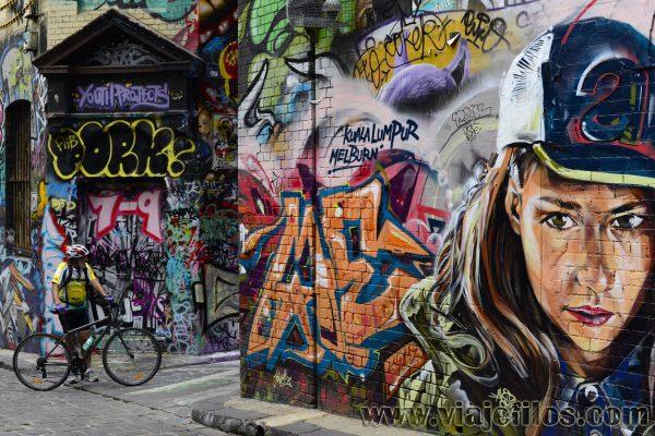 Los grafittis de Melbourne