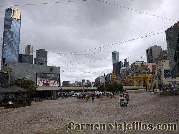 Federation Square en Melbourne