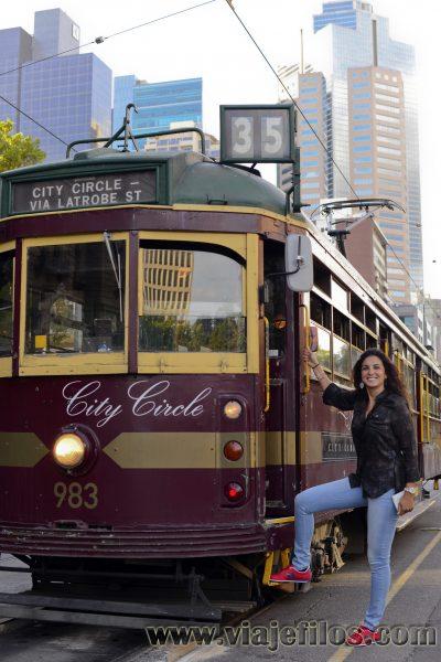 El tranvía 35 de Melbourne