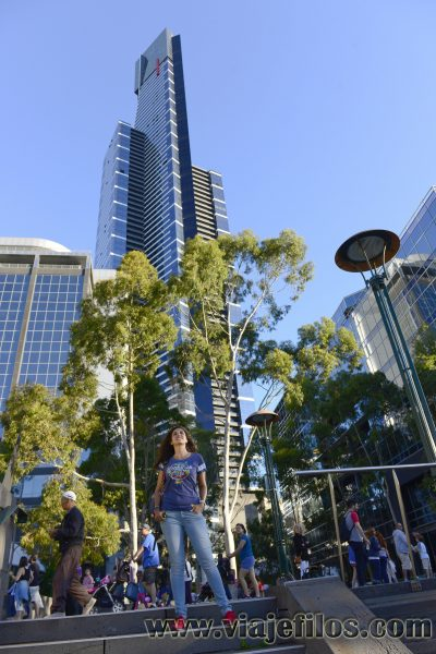 Eureka Tower de Melbourne