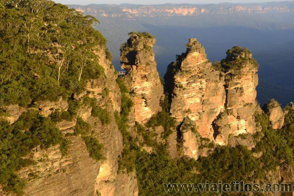 Three Sisters en Blue Mountains