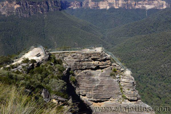Pulpit Rock en Blue Mountains