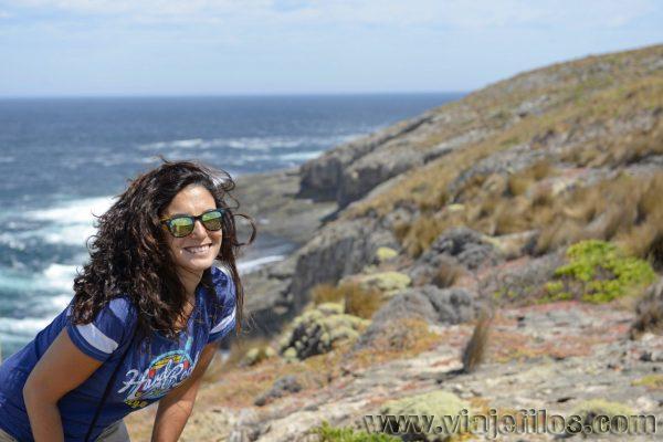 Recorriendo la costa de la isla Canguro de Australia