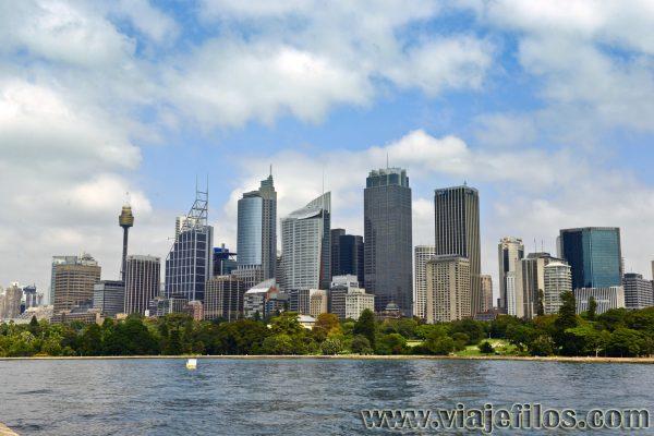 Skyline de Sydney, una escala perfecta para una ruta en caravana por Australia