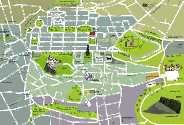 mapa-de-edimburgo